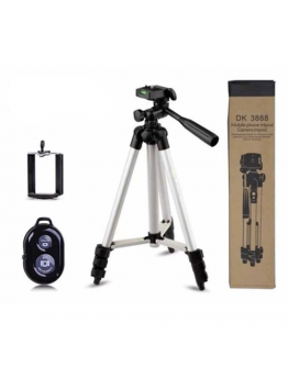 Tripod with remote control