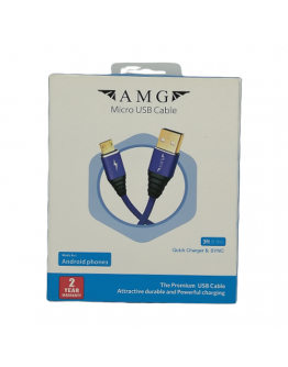 AMG charging and data transfer cable